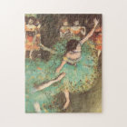 The Green Dancer by Edgar Degas, Vintage Ballet Jigsaw Puzzle