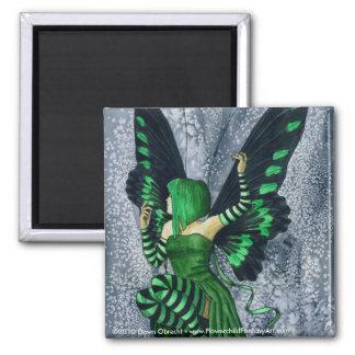 The Green Faerie by Dawn Obrecht Magnet
