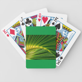 The green fan bicycle playing cards