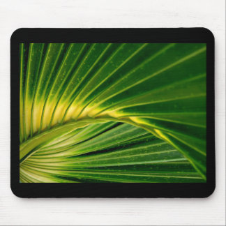 The green fan mouse pad