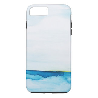 The Green Flash Ocean Watercolor iPhone 8 Plus/7 Plus Case
