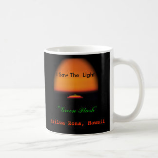 The Green Flash Sunset Coffee Mug