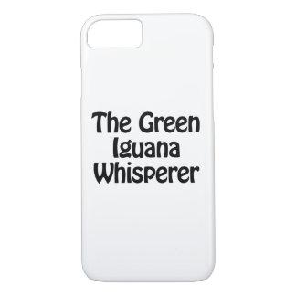 the green iguana whisperer iPhone 7 case