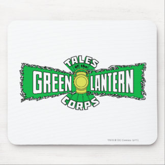 The Green Lantern Corps - Green Logo Mouse Pad