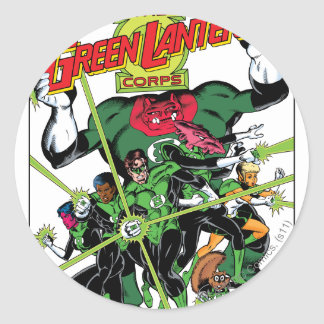 The Green Lantern Corps Round Sticker