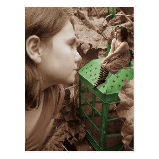 The green lantern post card