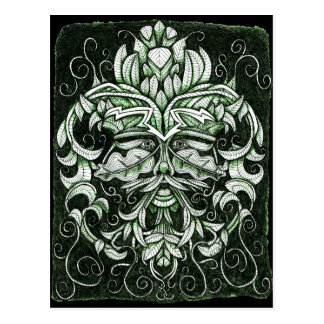 The Green Man Postcard