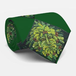 The Green Man Tie