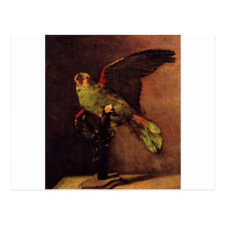The Green Parrot by Vincent van Gogh Postcard