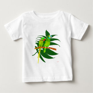 The Green Parrots apparel Baby T-Shirt