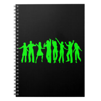 The Green Party Spiral Notebook