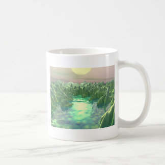 The Green Planet Coffee Mug