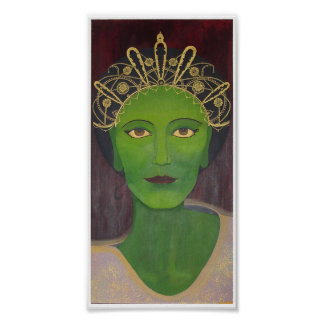 The Green Tara Bodhisattva Poster
