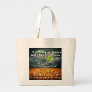 The Greening of Religion Large Tote Bag