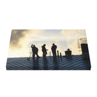The Greeting / Tervehdys (4:3, Size S) Canvas Print