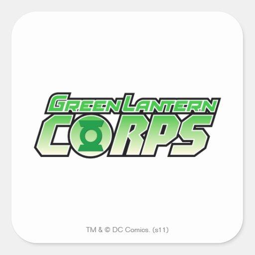 The Gren Lantern Corps Logo 2 Sticker