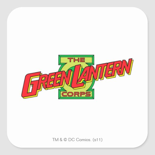 The Gren Lantern Corps Logo Sticker