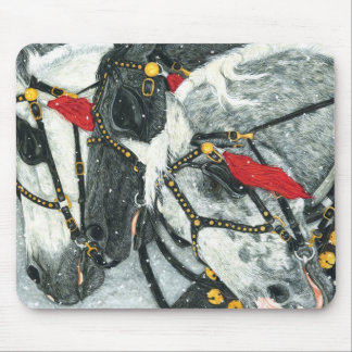 The Greys - Percheron Team Mouse Pad
