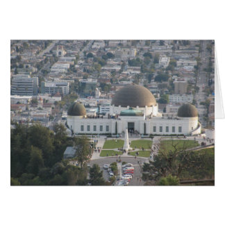 The Griffith Observatory Card