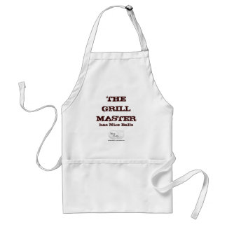 The Grill Master has Nice Balls Standard Apron