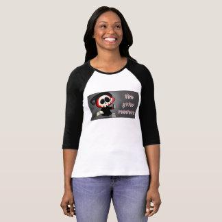 The Grim Reader T-Shirt, Black Sleeves T-Shirt