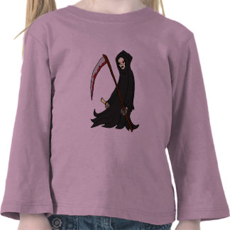 The Grim Reaper - Book of Monsters - Halloween Shirts