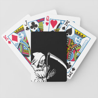 The Grim Reaper or Death Bicycle Playing Cards