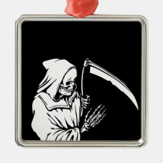 The Grim Reaper or Death Metal Ornament