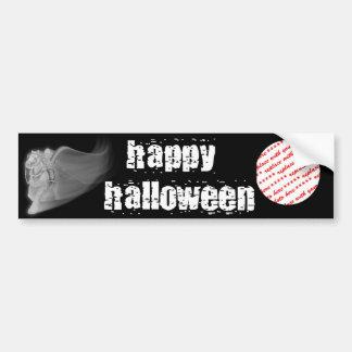 The Grim Reaper Ride Halloween Photo Frame Bumper Sticker