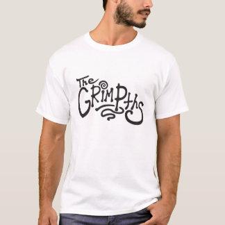 The Grimpths men's t-shirt (black text)