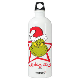 The Grinch | Holiday Stash Water Bottle