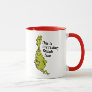 The Grinch | Resting Grinch Face Mug