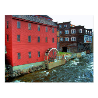 The Gristmill, Littleton, NH: Postcard