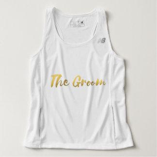 """The Groom"" Beach Wedding Tank"