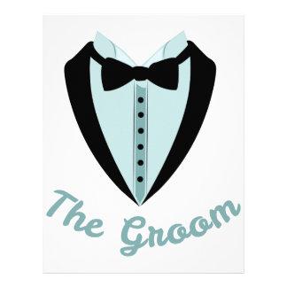 The Groom Custom Letterhead
