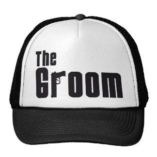 The Groom Mafia Trucker Hats
