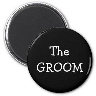 The Groom Fridge Magnet