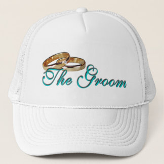 The Groom Rings Trucker Hat