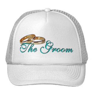 The Groom Rings Trucker Hat