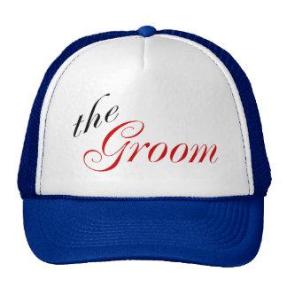 The Groom (Script Red) Trucker Hat
