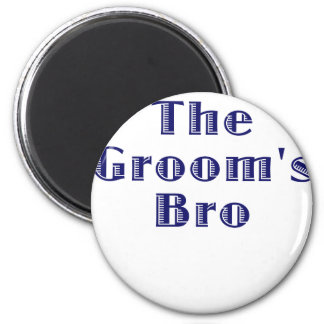 The Grooms Bro Refrigerator Magnets