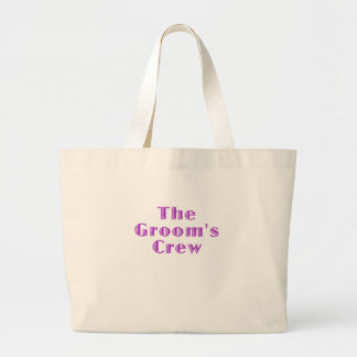 The Grooms Crew Canvas Bags