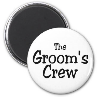 The Grooms Crew Refrigerator Magnets