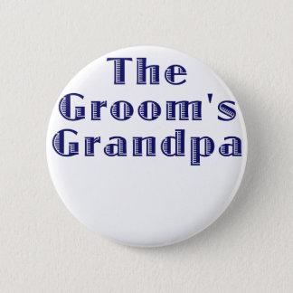 The Grooms Grandpa 2 Inch Round Button