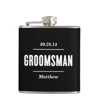 The Groomsman | Wedding Flask