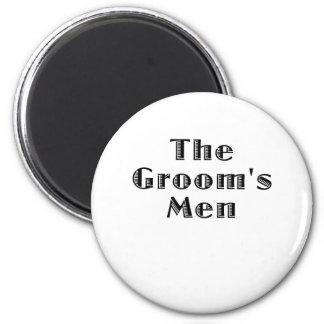 The Groomsmen 2 Inch Round Magnet