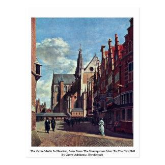 The Grote Markt In Haarlem Postcard