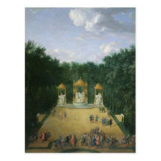 The Groves of the Baths of Apollo Postcard