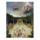 The Groves of Versailles. L'Arc de Triomphe Postcard