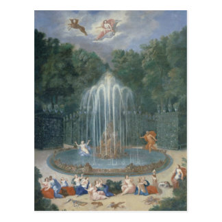 The Groves of Versailles. View of Star or Water Postcard
